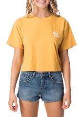 Rip Curl Keep On Surfin Crop T-Shirt