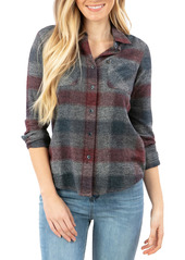 Rip Curl Leah Flannel Button-Up Shirt