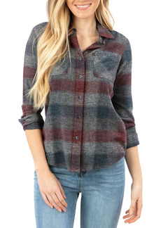Rip Curl Leah Flannel Button-Up Shirt