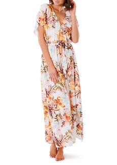 Rip Curl Tallows Floral Maxi Dress