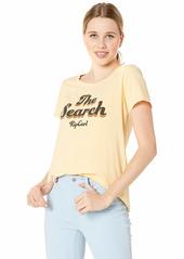 Rip Curl Women's Keep Searching Tee mustard XL