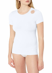 Rip Curl Women's wash Loose Fit Short Sleeve Rashguard  XS