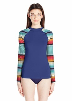 Rip Curl Women's Wetty Uv Long Sleeve Rashguard  L