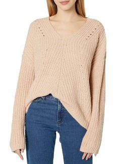 Rip Curl Women's Woven V Neck Sweater  XL