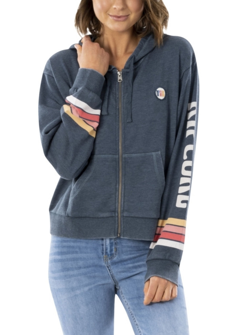 Rip Curl Women's Golden State Zip Up Fleece Top