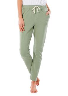 Women's Rip Curl Organic Cotton Fleece Track Pants