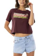 Rip Curl Women's Tallows Crop Tee Top