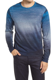 Robert Barakett Pineview Gradient Crewneck Sweater