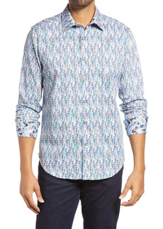 Robert Graham Night Ladies Button-Up Shirt