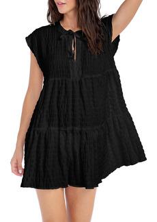 Robin Piccone Fiona Flouncy Cover-Up Dress