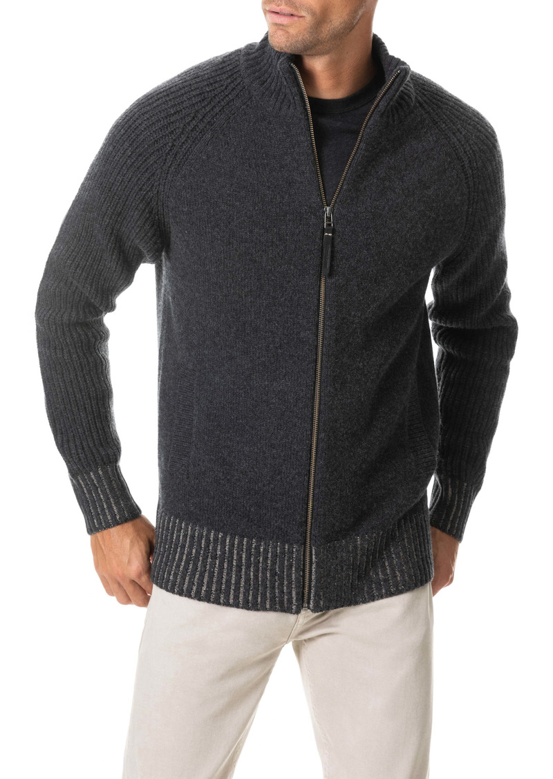 Rodd & Gunn Grovetown Full Zip Wool Sweater