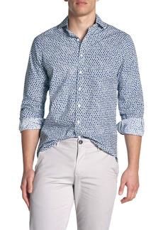 Rodd & Gunn Ocean Grove Regular Fit Print Button-Up Shirt