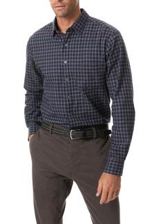 Rodd & Gunn Sanson Sports Fit Check Flannel Button-Up Shirt