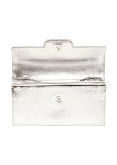 Roger Vivier Metal Leather Envelope Clutch