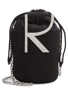 Roger Vivier Mini Leather Bucket Bag