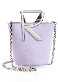 Roger Vivier Mini RV Suede Bucket Bag Handbag