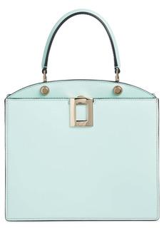 Roger Vivier Mini So Vivier Leather Top Handle Bag