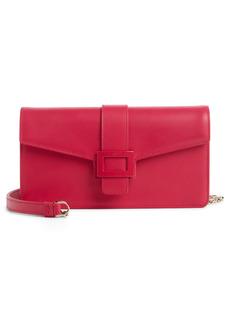 Roger Vivier Viv Calfskin Leather Crossbody Bag