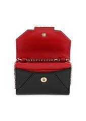 Roger Vivier Trés Vivier Leather Wallet