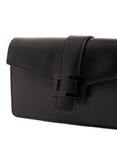 Roger Vivier Viv Leather Clutch