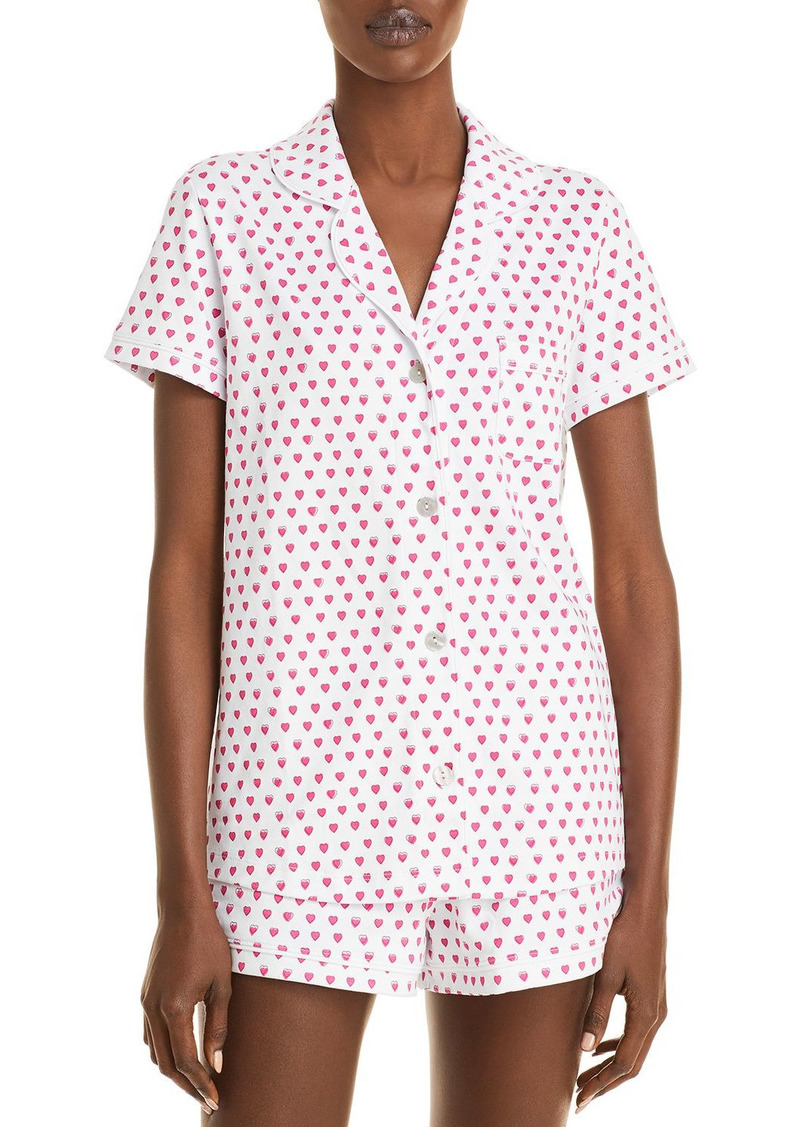 Roller Rabbit Hearts Pajama Set