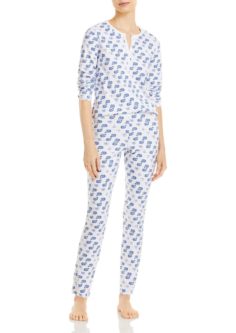 Roller Rabbit Moby Printed Pajama Set