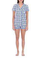Roller Rabbit Monkey Polo Pajama Set