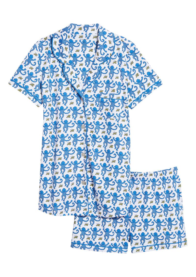 Roller Rabbit Monkey Polo Short Pajamas