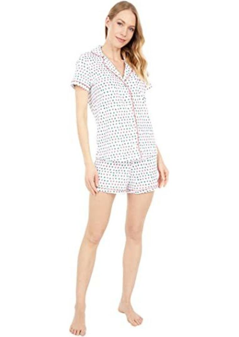 Roller Rabbit Starry Night Polo Pajama Set