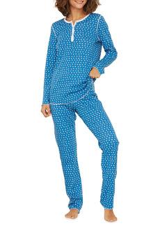 Roller Rabbit Starry Night Printed Pajama Set