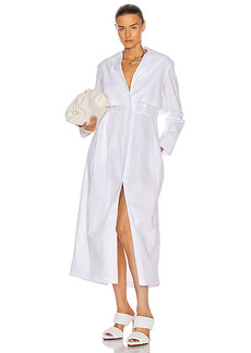 Rosie Assoulin Layered Trench Day Dress