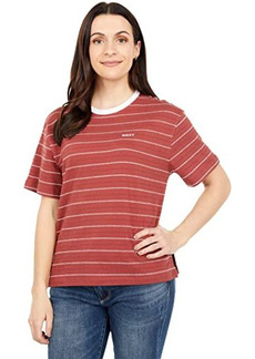 Roxy Beachy Stripe Short Sleeve Tee