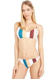 Roxy Holiday Jungle Underwire Athletic Tri Bikini Top