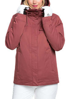 Roxy Billie Waterproof Hooded Snow Jacket