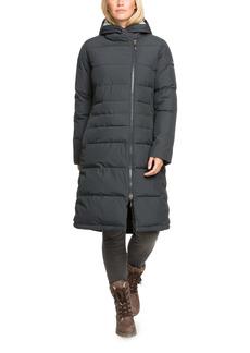 Roxy Everglade Hooded Long Puffer Coat