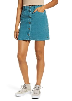 Roxy Unforgettable Fall Corduroy Miniskirt