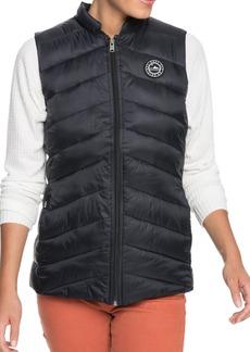 Women's Roxy Coast Road Quilt Water-Repellent Vest