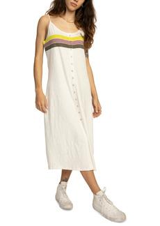 Rvca Juniors' Cotton Snap-Front Dress