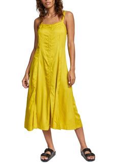 Rvca Juniors' Square-Neck Dress