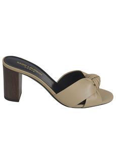 Saint Laurent Bianca 75 Mule Sandals