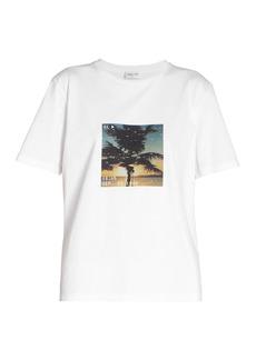 Saint Laurent Graphic Palm T-Shirt