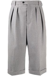 Saint Laurent high-waisted wool culottes