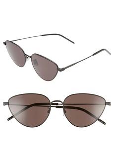 Saint Laurent 57mm Cat Eye Sunglasses