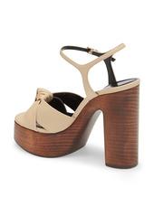 Saint Laurent Bianca Platform Sandal (Women)