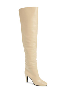 Saint Laurent Blu Over the Knee Boot (Women)