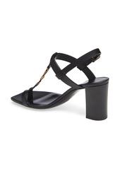 Saint Laurent Cassandra YSL Logo T-Strap Sandal (Women)