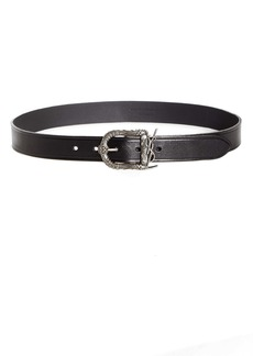 Saint Laurent Celtique Mongram Buckle Belt