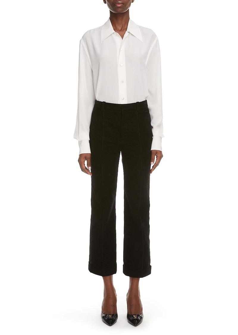 Saint Laurent Cotton Poplin Shirt