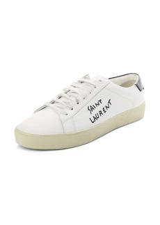 Saint Laurent Court Classic Low Top Sneaker (Women)