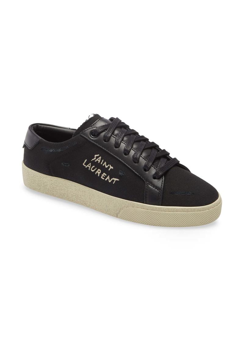 Saint Laurent Court Classic SL/06 Low Top Sneaker (Women)